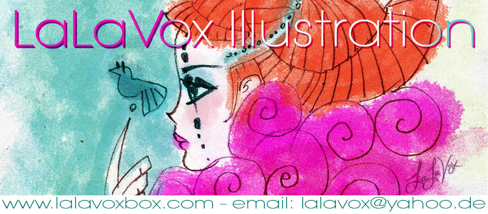 LaLaVox Illustration at www.lalavoxbox.com
